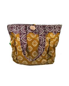 Timbali Crafts Handmade African Mega Tote Handbag