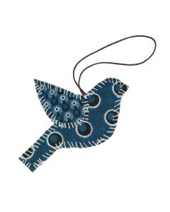 Timbali Crafts Handmade African Christmas Ornament - Bird