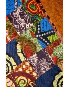 Timbali Crafts Handmade African Table Mat - Patchwork