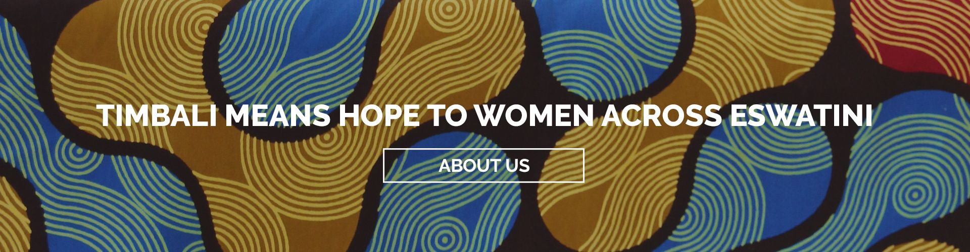 Timbali means hope to women across Eswatini